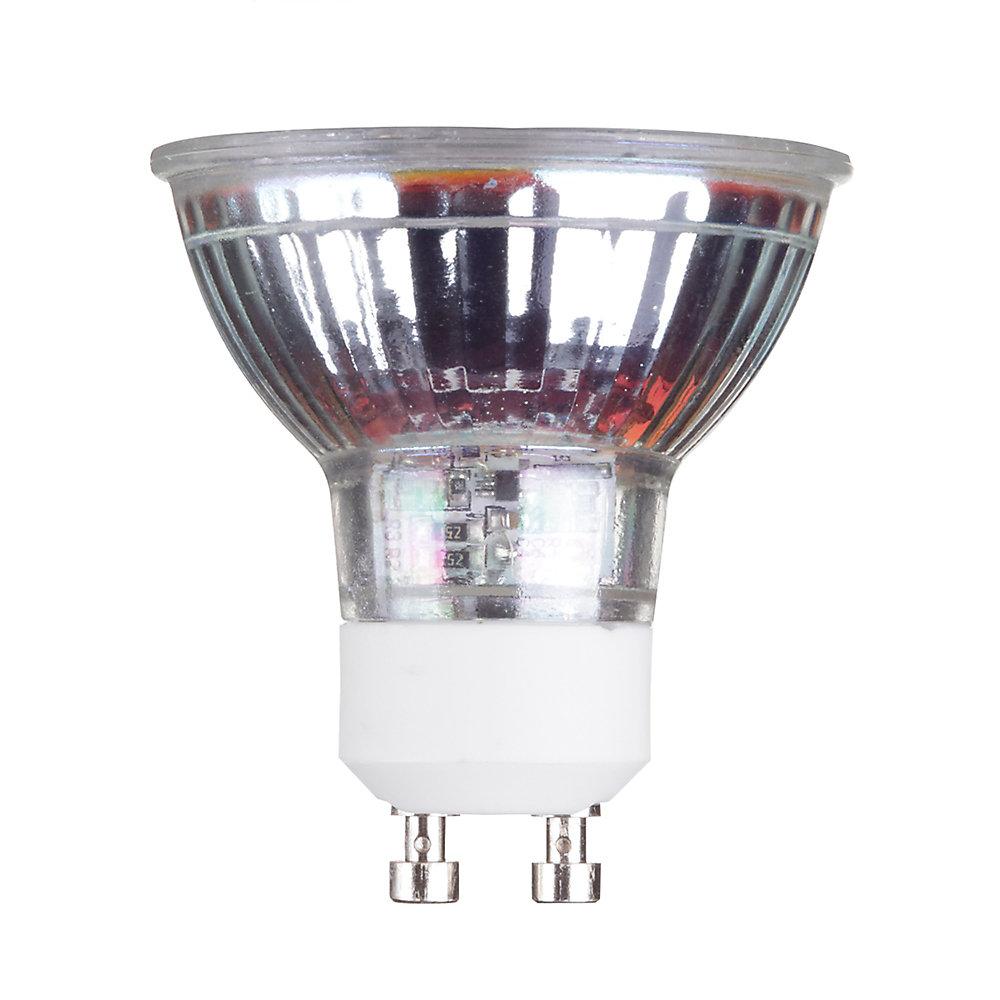 Ampoule de réflecteur DEL MR16 gradable, équivalente à un éclairage blanc chaleureux de 50W (3000K)