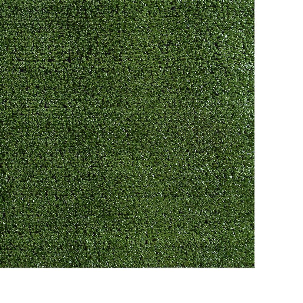 Tapis d'extérieur rectangulaire, 12 pi x 16 pi, gazon Promo, vert