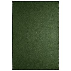 Solution Green 12 ft. x 15 ft. Indoor / Outdoor Area Rug