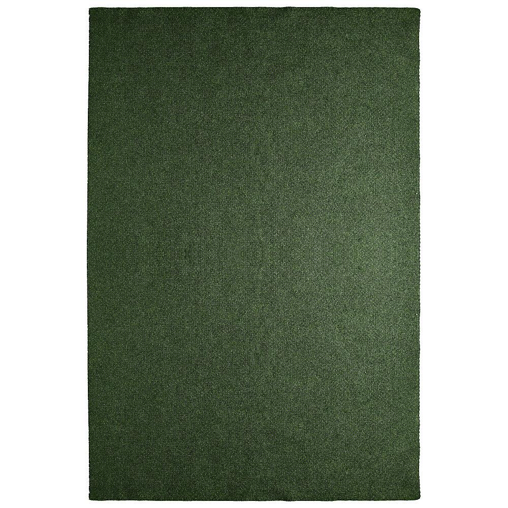 Tapis d'intérieur /extérieur, 6 pi x 14 pi, Solution, vert