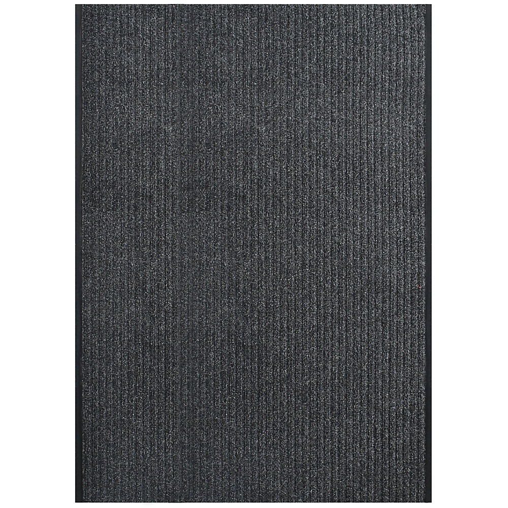Pioneer Charcoal 4 ft. x 56 ft. Indoor / Outdoor Area Rug