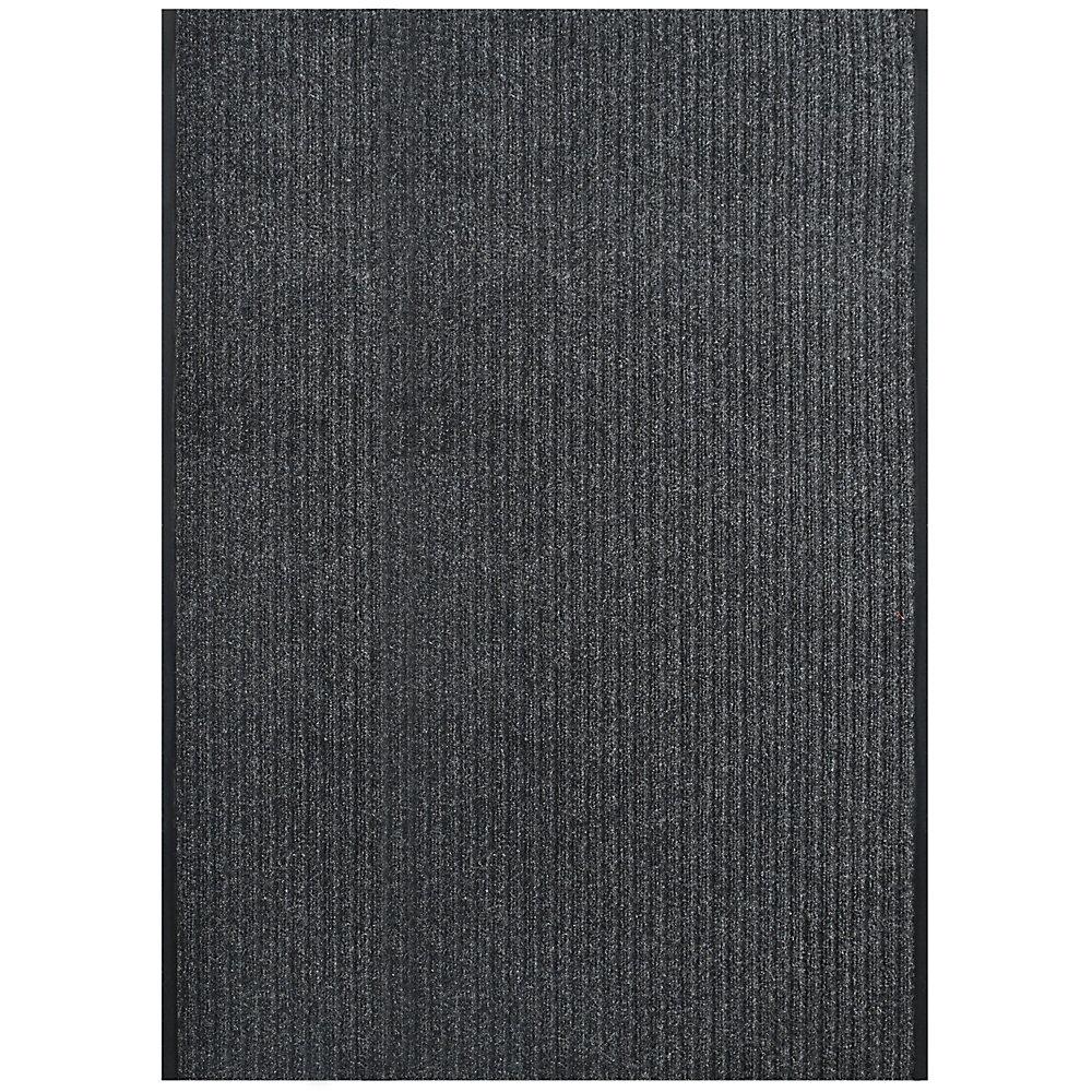 Tapis d'intérieur /extérieur, 6 pi x 16 pi, Pioneer, charbon