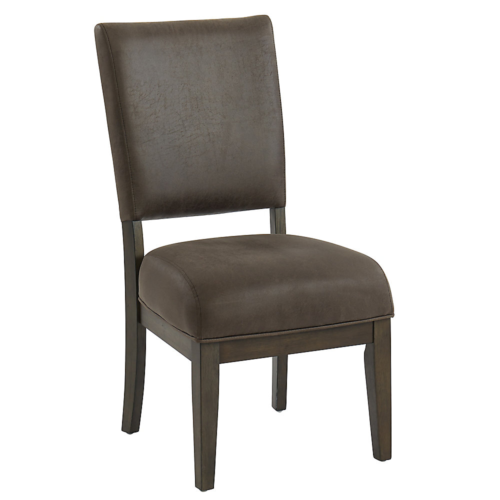 Forrest-Side Chair-Coffee (Set Of 2)