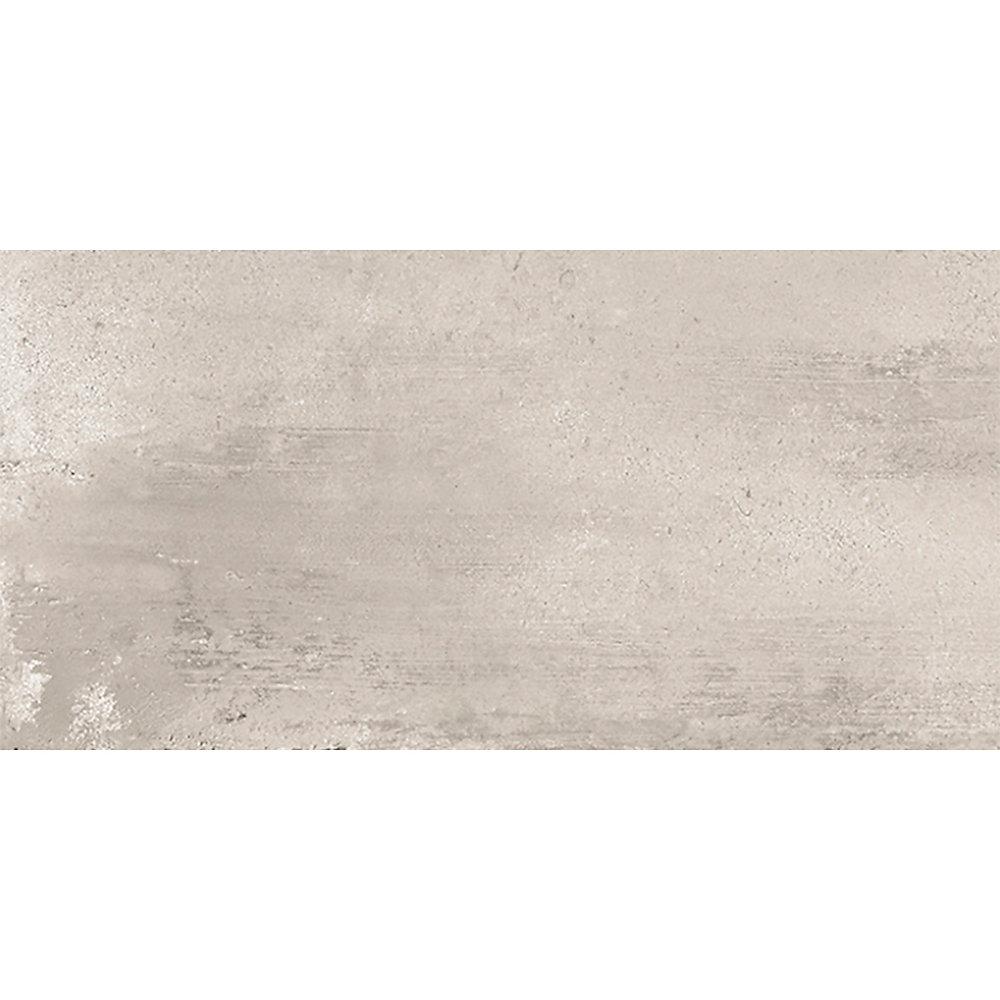 Carreaux pour mur et sols, Euro Ice Greige, 12 po x 24 po, 14,42 pi2 / caisse, porcelaine, gris