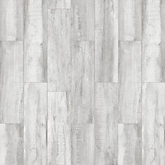 Euro Borghetto Grigio 7-inch x 24-inch Porcelain Floor and Wall Tile (14.74 sq. ft. / case)
