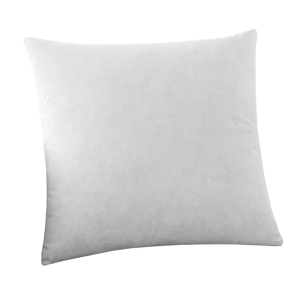 Intérieur de l'oreiller cotton rempli de plumes (16po x 16po)