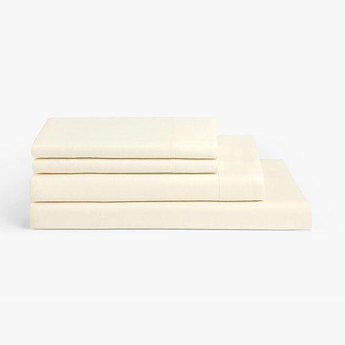 Millano Collection Millano Spa Ivory 4 Piece Sheet Set