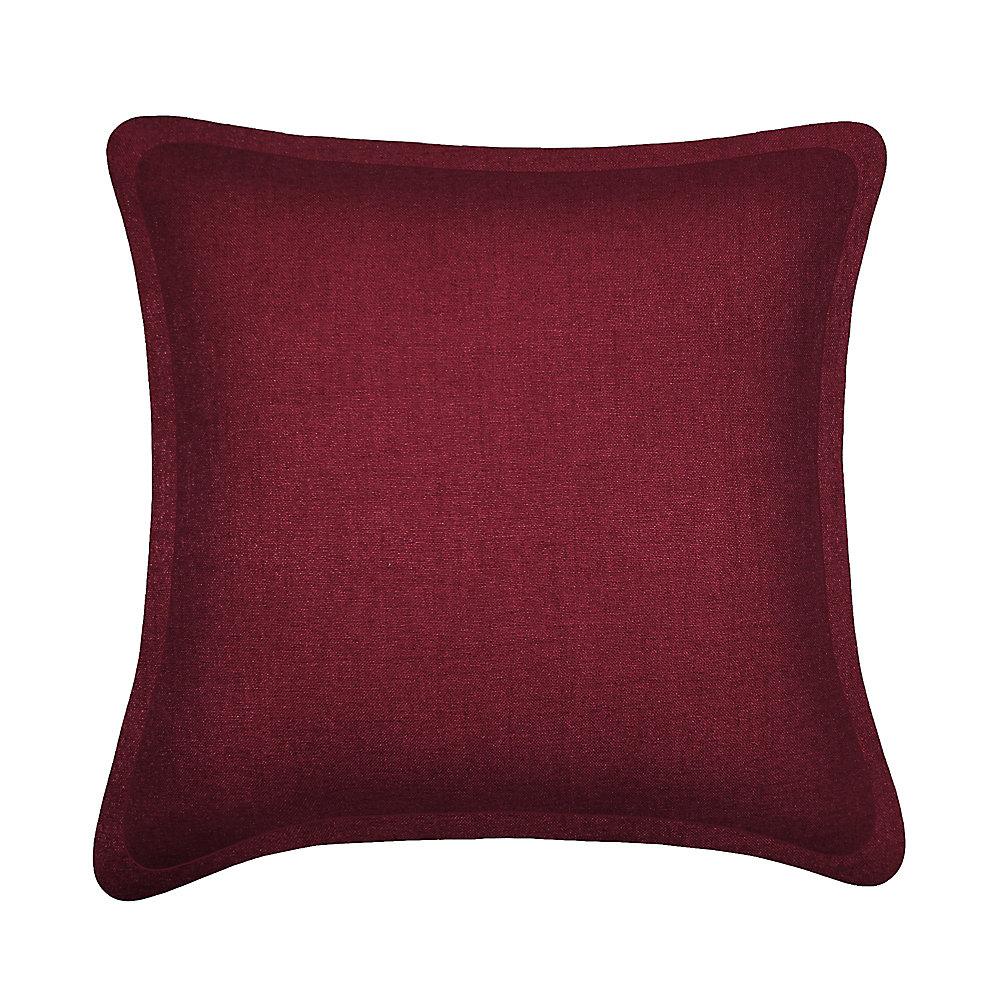 Tweed Burgundy Cushion
