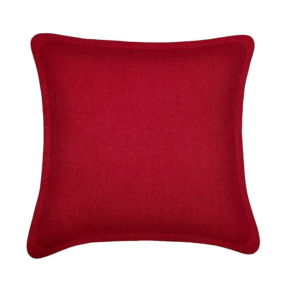 Coussin décoratif Tweed Rouge