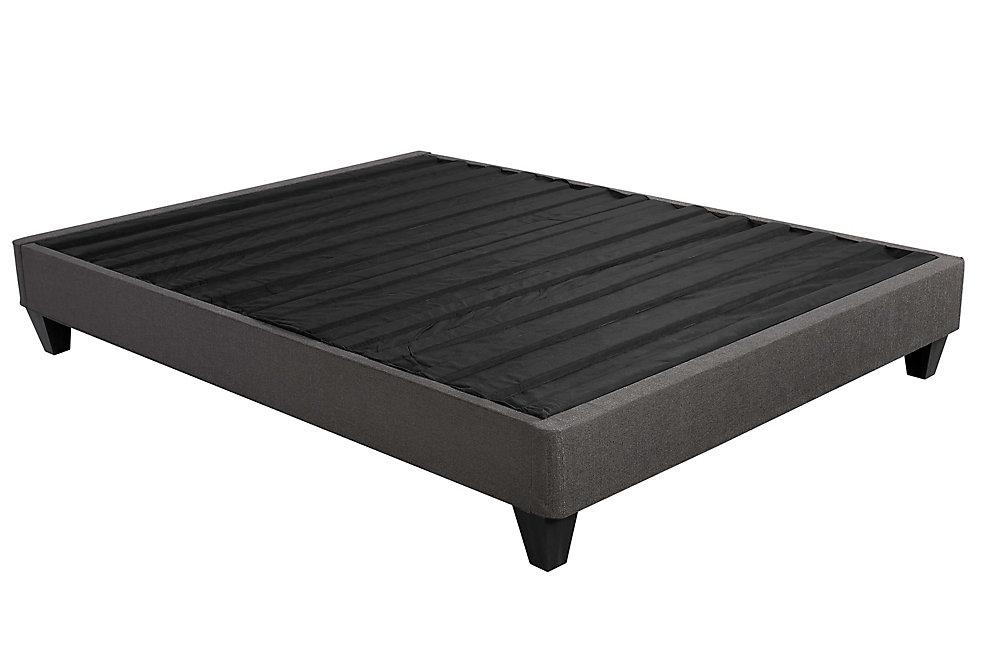 Base de lit tapissée Svelto,  très grand simple