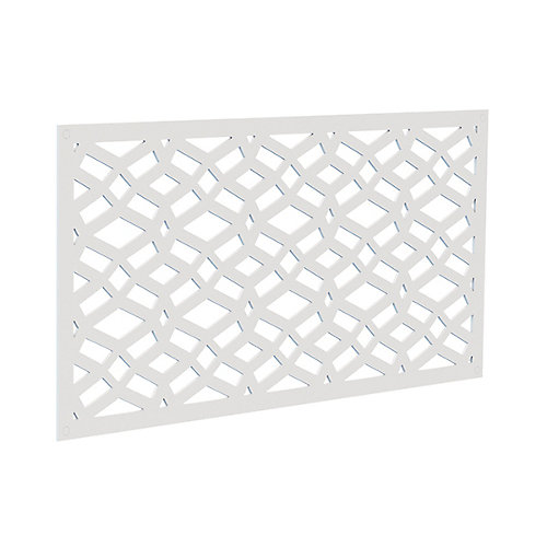Dec screen panel 2x4 - celtic white