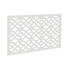 Dec screen panel 2x4 - celtic white
