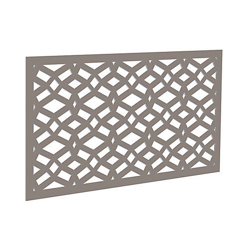 Decorative screen panel 2x4 - celtic - greige