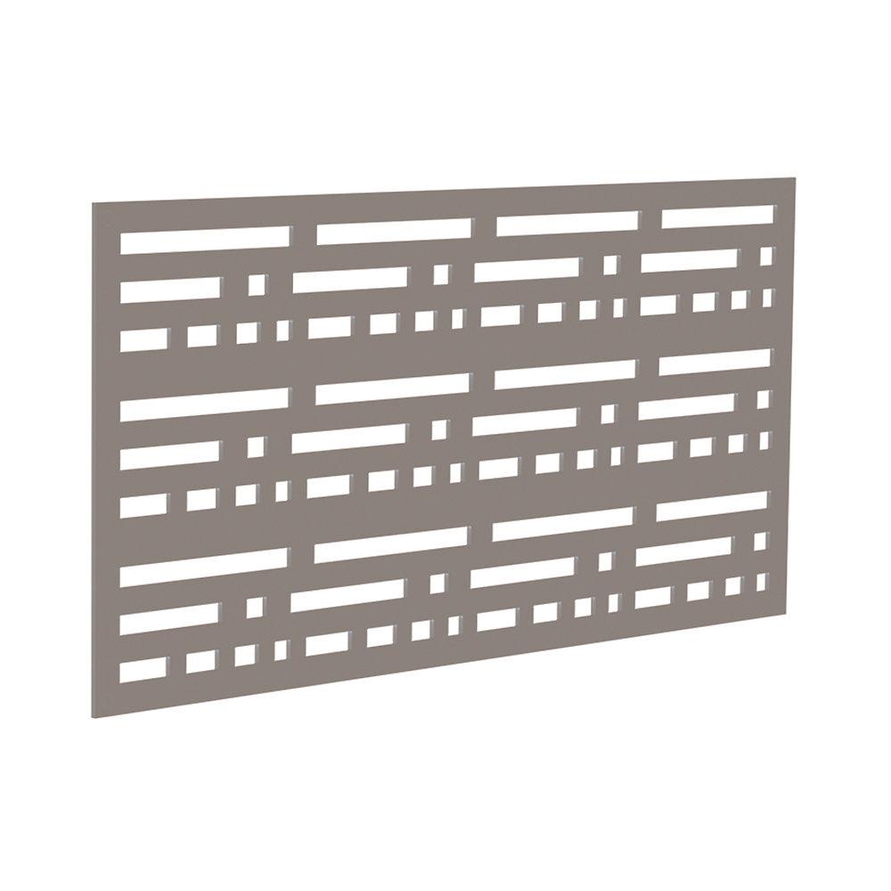 Panneau decoratif 2x4 - morse - greige