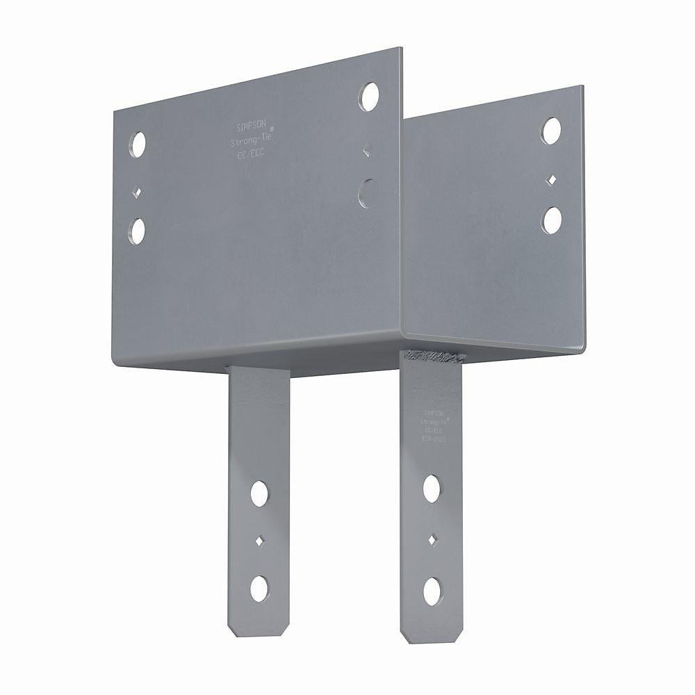 Chapiteau de colonne CC pour poutre 8x, poteau 8x