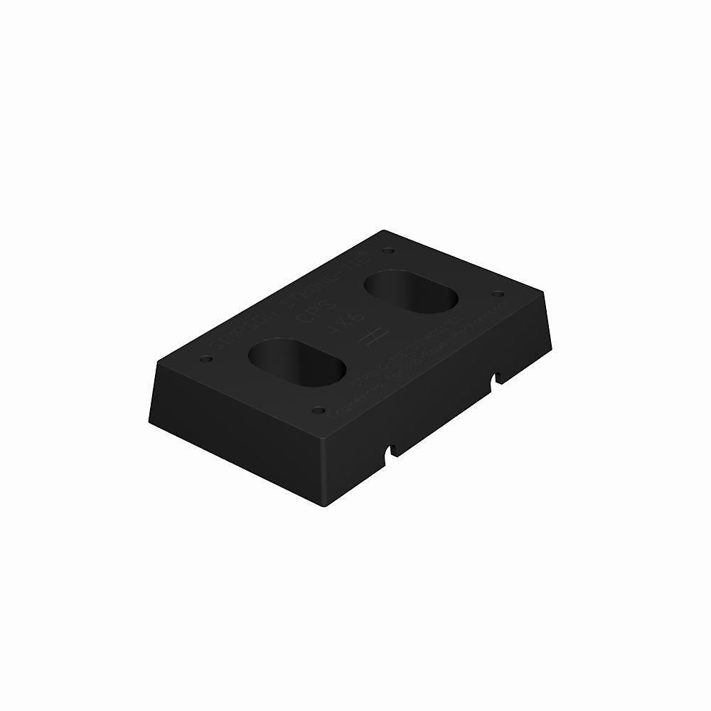 Entretoise en plastique composite CPS pour 4x6