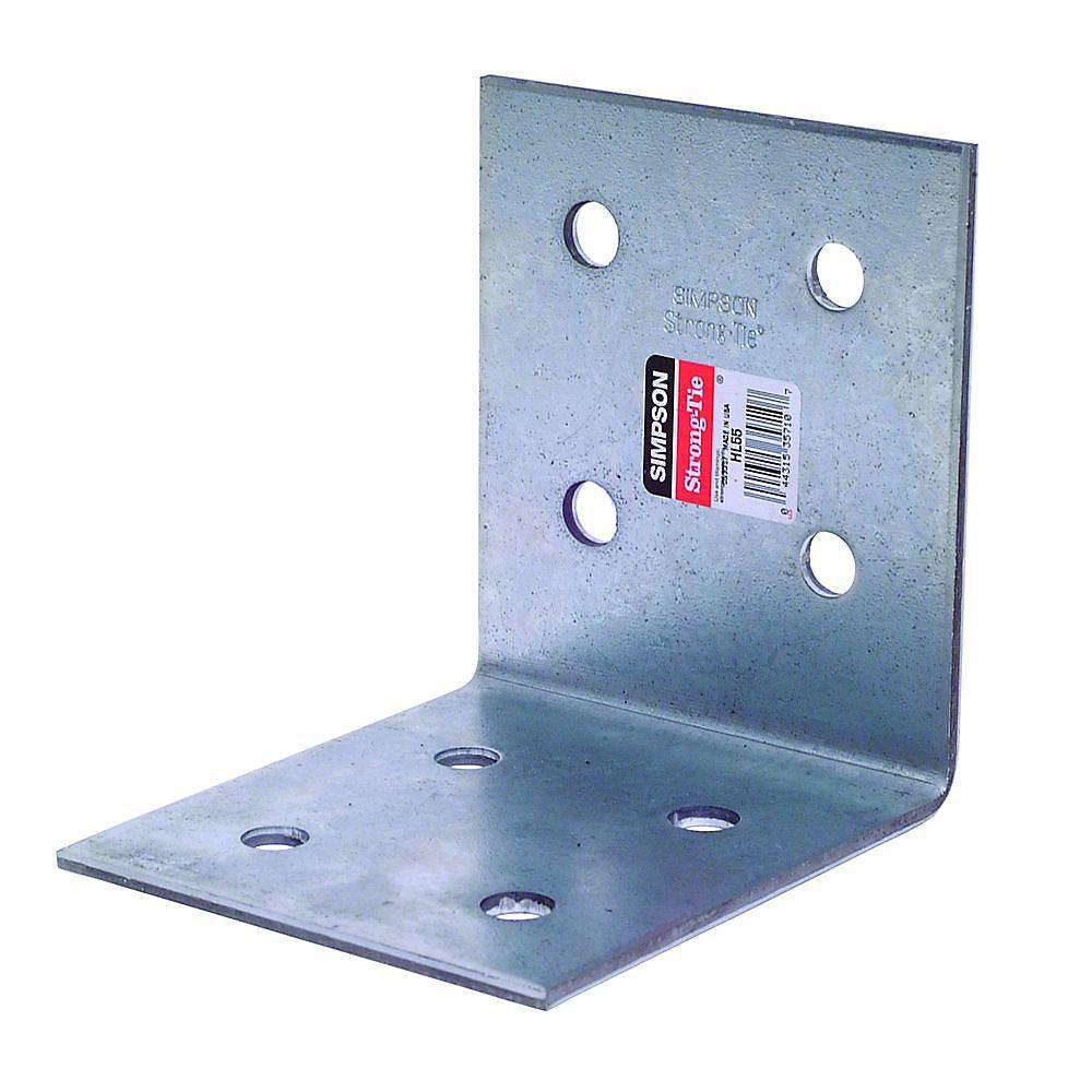 HL 5-3/4 inch x 5 inch Galvanized Heavy Angle