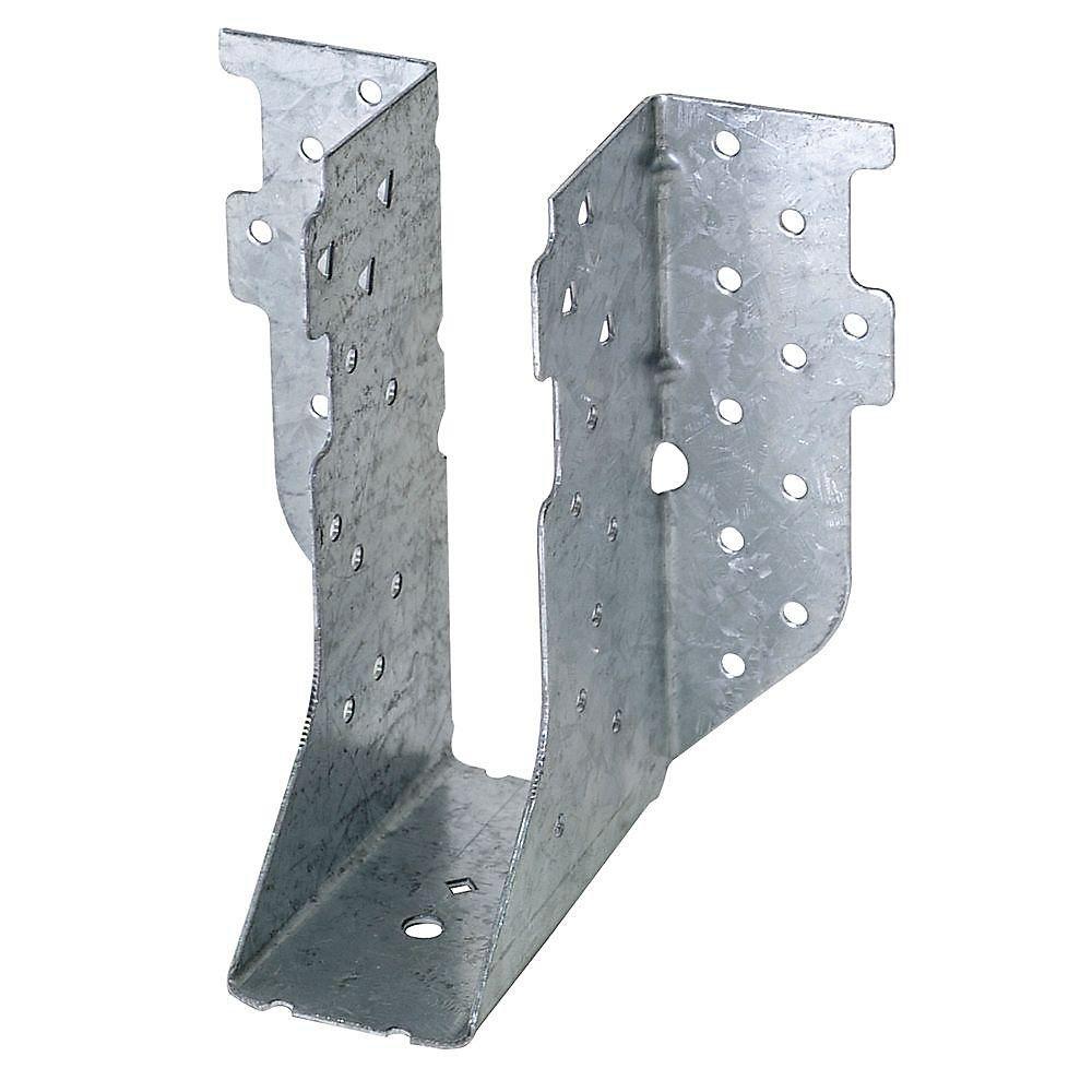 Étrier pour ferme lourd galvanisé HTU à montage frontal pour 2x6