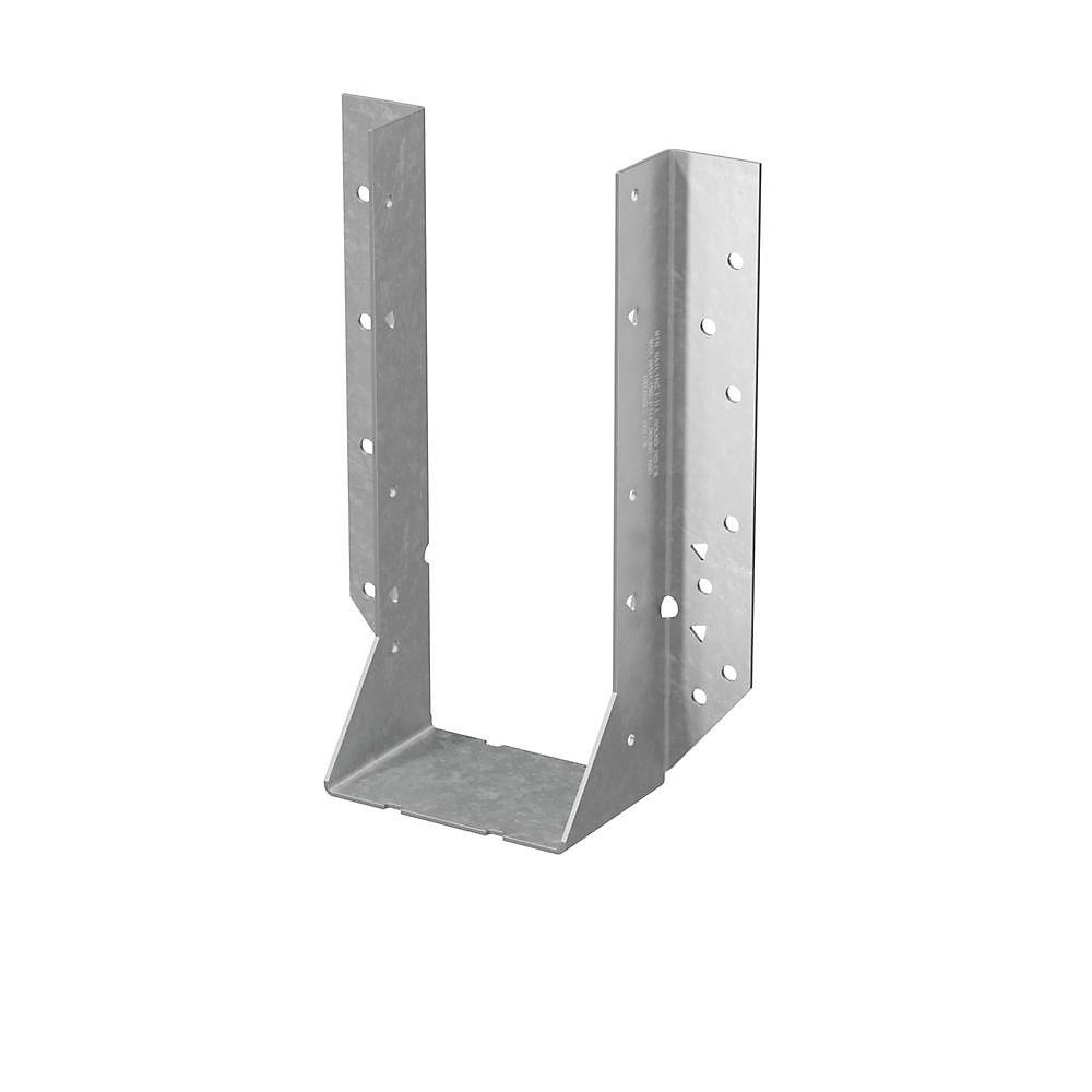 HU Galvanized Face-Mount Joist Hanger for 4x10