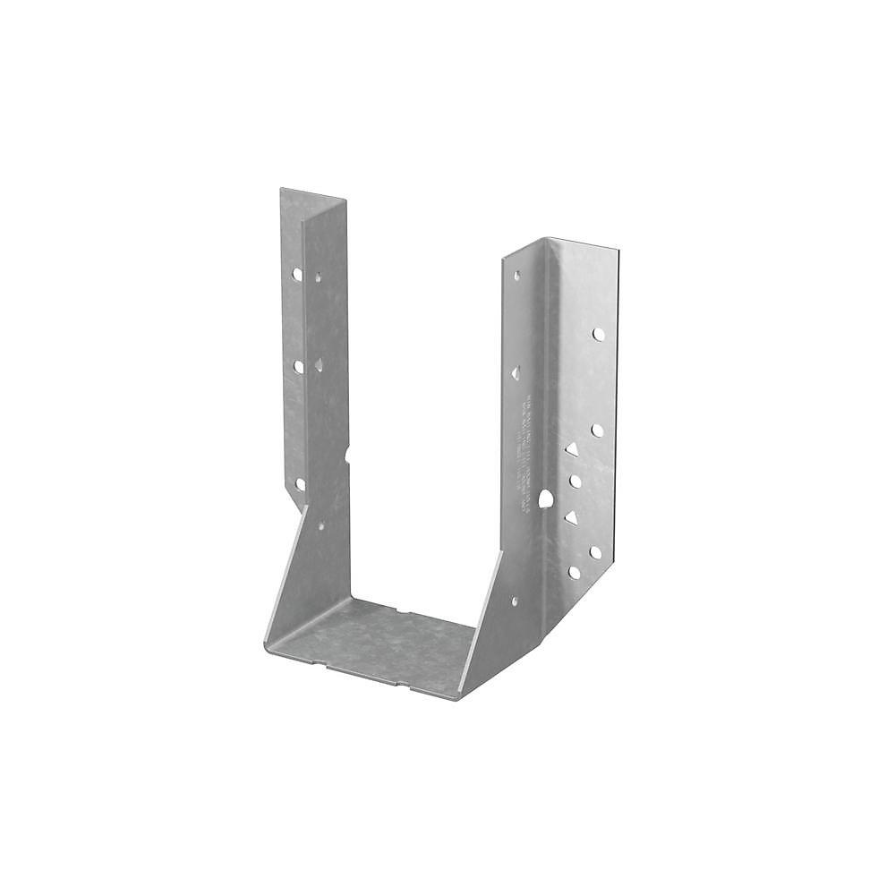 Étrier à solive à montage frontal galvanisé HU pour 4x8