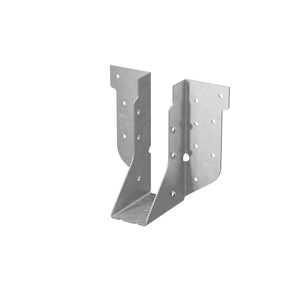 HUS Galvanized Face-Mount Joist Hanger for 2x6