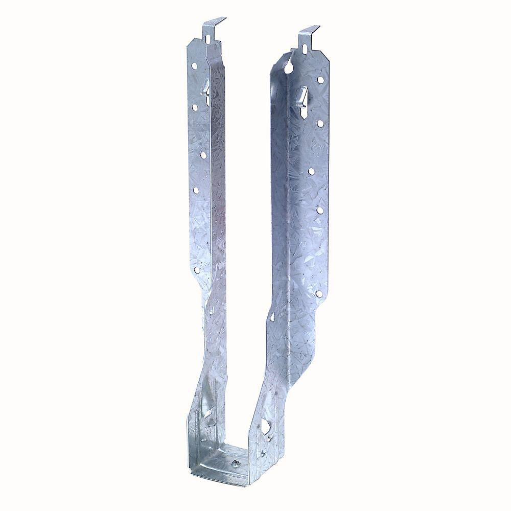 Étrier à solive à montage frontal galvanisé IUS pour bois d'ingénierie de 2 1/8 po x 11 7/8 po