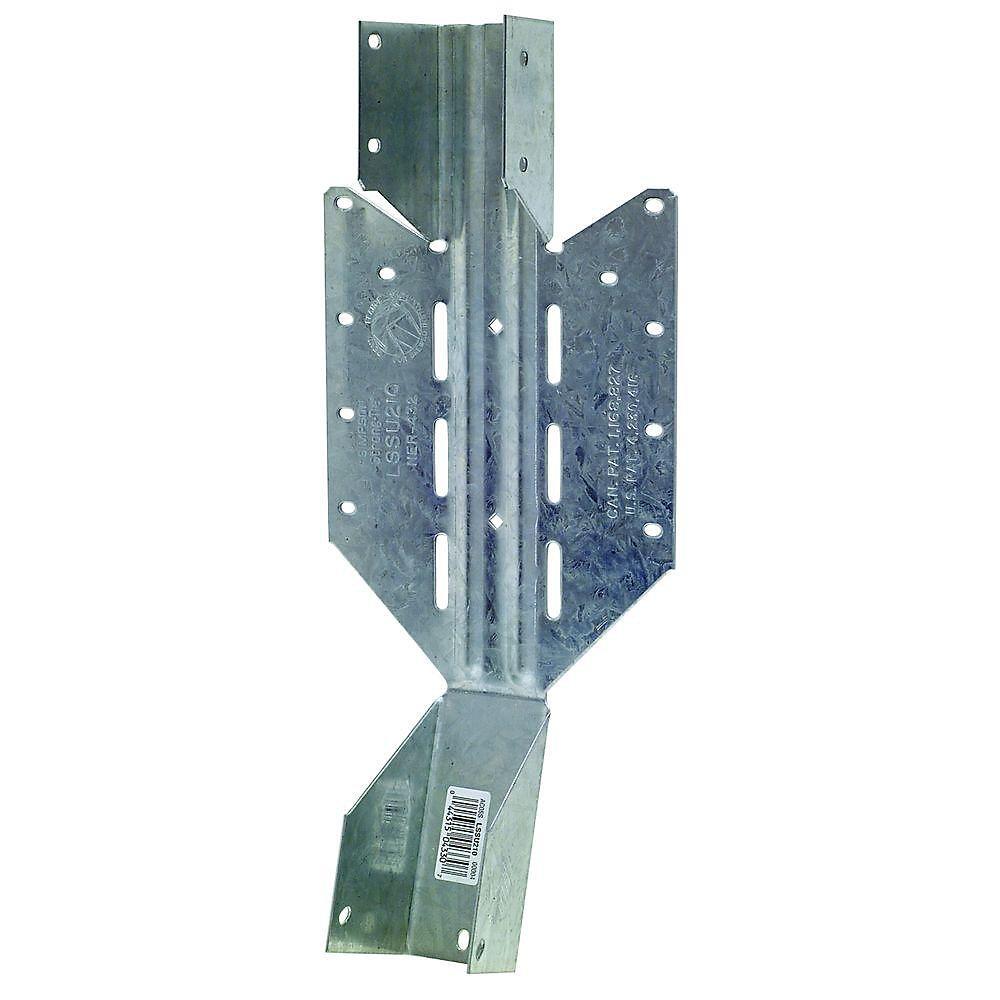 Étrier à montage frontal léger réglable sur site LSSU pour 2x10