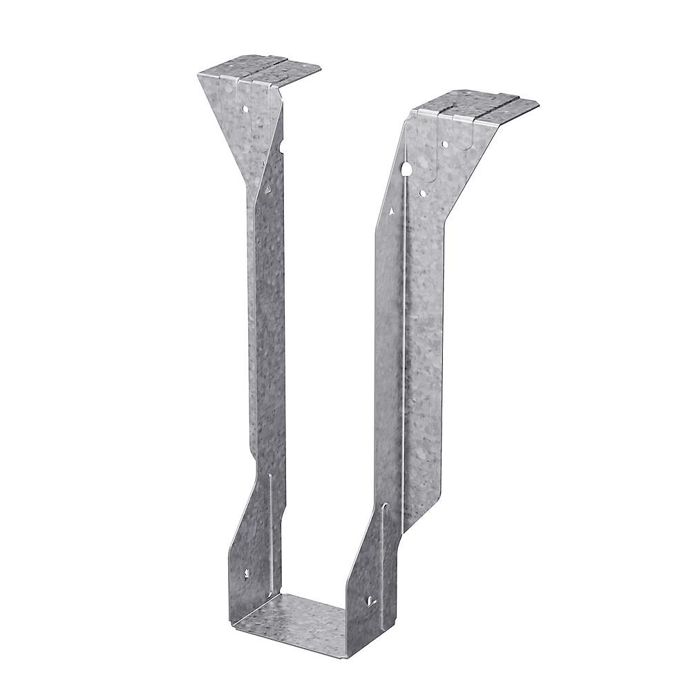 Étrier à solive à semelle supérieure galvanisé MIT pour bois d'ingénierie de 4 po x 11 7/8 po