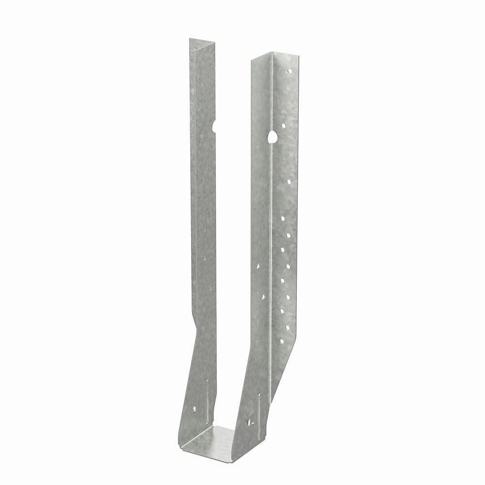 Étrier à solive à montage frontal galvanisé MIU pour bois d'ingénierie de 2 5/16 po x 16 po