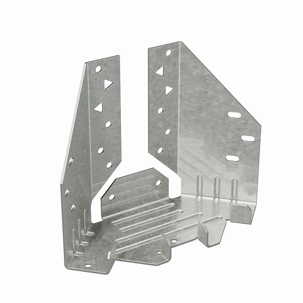 MTHMQ Galvanized Multiple Truss Hanger with Strong-Drive SDS Screws