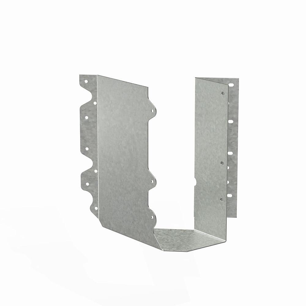 Étrier à solive galvanisé SUR pour 4x10, incliné à droite