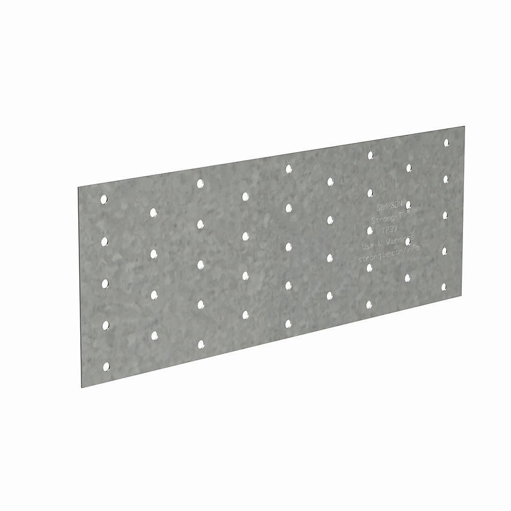 TP 3-1/2 inch x 9 inch 20-Gauge Galvanized Tie Plate