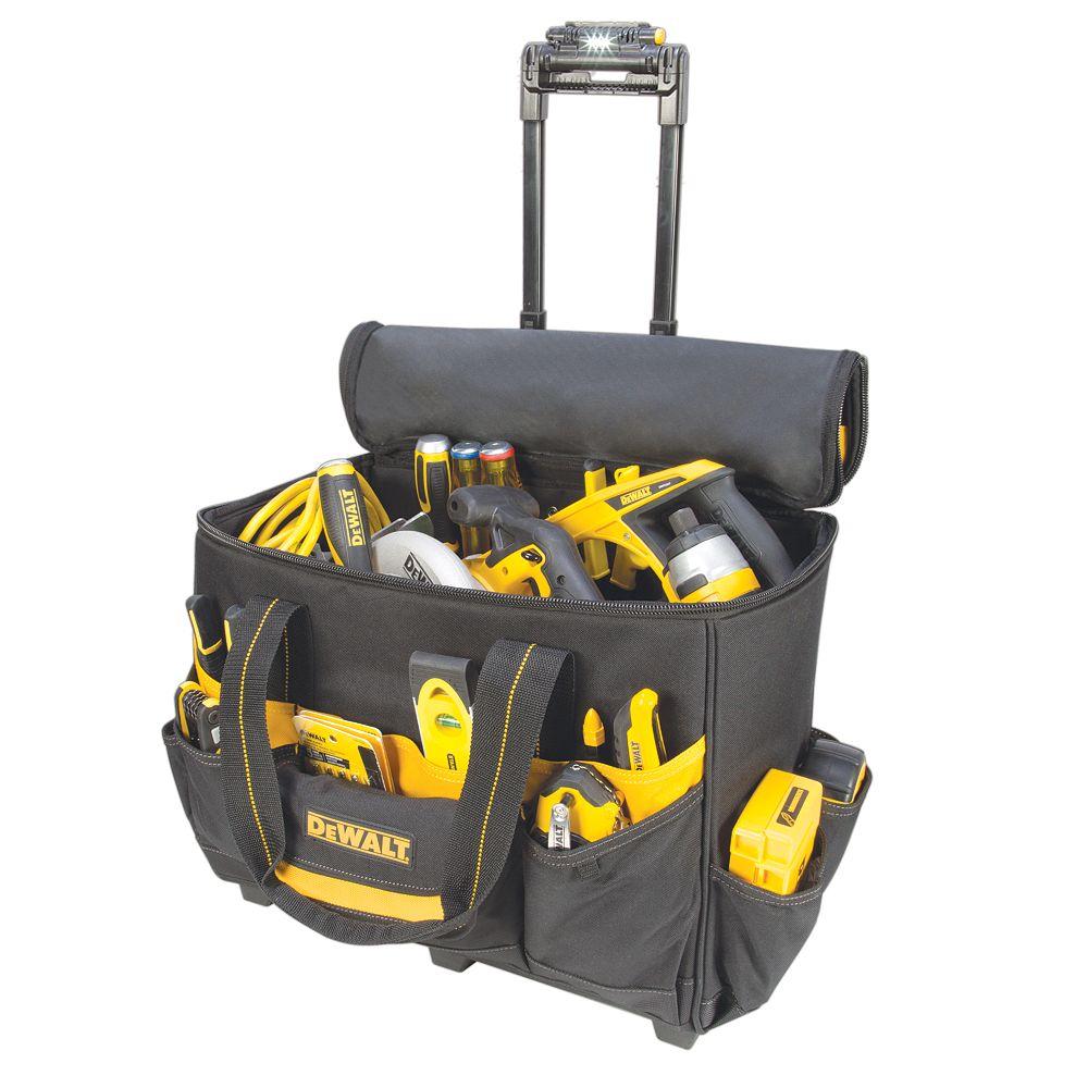 DEWALT 18-inch Lighted Handle Roller Bag