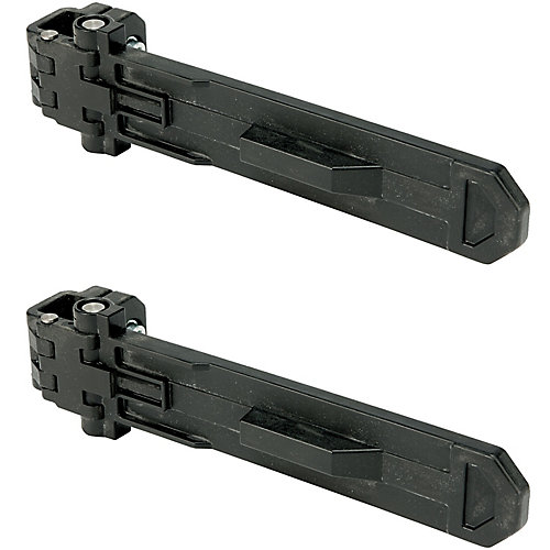 ToughSystem 10-5/8-inch Brackets for DS Tool Box Carrier (2-Pack)