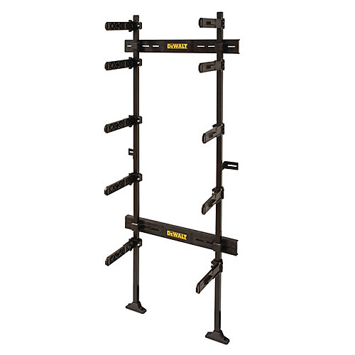 ToughSystem 25-1/2-inch Workshop Racking Storage System, Black