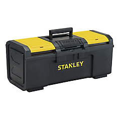 24-inch 1-Touch Latch Tool Box with Lid Organizers