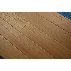 Revêt. sol bois franc ingénierie, hickory naturel, 1/2po x 5po x long. var., 26,48pi2/bte