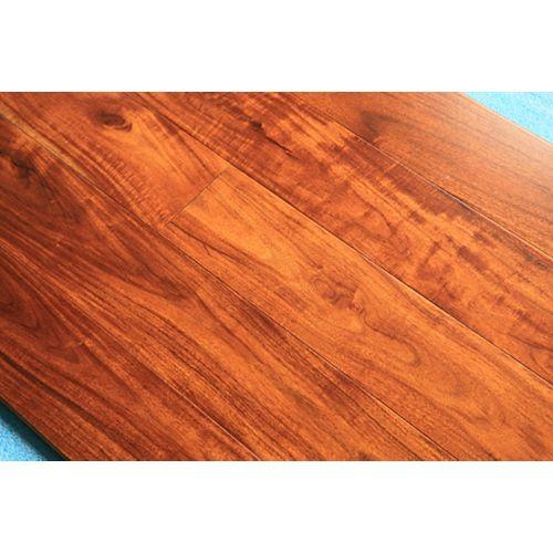 GUOYA Revêt. sol bois franc ingénierie, acacia doré, 1/2po x 413/16po x long. var., 28,37pi2/bte