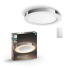 Plafonnier intelligent DEL d'ambiance à lumière blanche Adore Hue de Philips