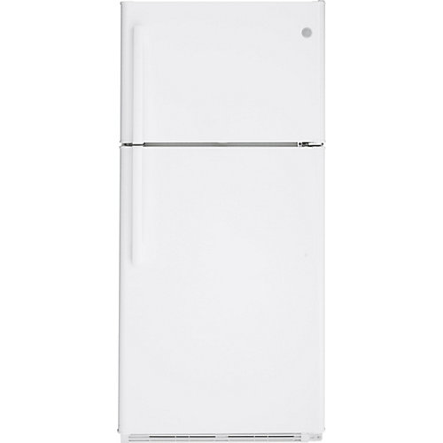 18 Cu. Ft. Top-Mount No Frost Refrigerator- White