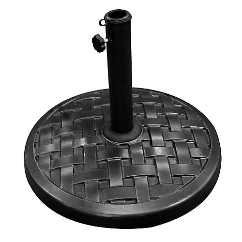 Base de parasol ronde - Noir