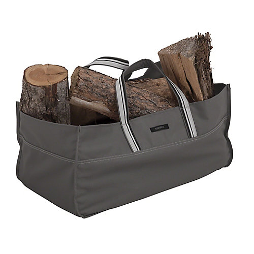 Ravenna Jumbo Log Carrier - Outdoor Carrier with Water Resistant Fabric