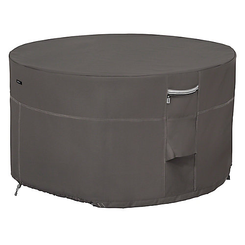 Ravenna 42 inch Round Fire Pit Table Cover - Outdoor Cover with Water Resistant Fabric