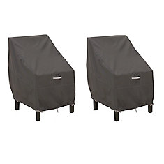 Ravenna Standard Patio Chair Cover - Outdoor Furniture Cover with Water Resistant Fabric, 2-Pack