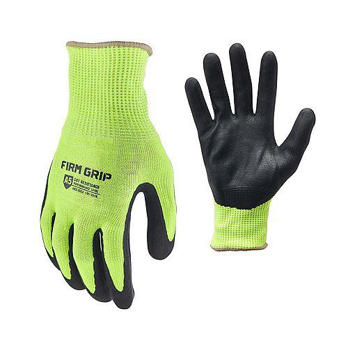 Firm Grip Cut Resistant Hi Vis (XL)