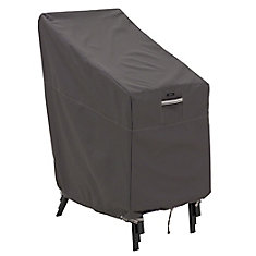Ravenna Stackable Patio Chair Cover - Outdoor Furniture Cover with Water Resistant Fabric