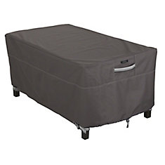 Ravenna Rectangular Patio Coffee Table Cover - Outdoor Furniture Cover with Water Resistant Fabric