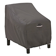 Ravenna Deep Seated Lounge Chair Cover - Outdoor Furniture Cover with Water Resistant Fabric