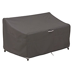 Ravenna Deep Seated Loveseat Cover - Outdoor Furniture Cover with Water Resistant Fabric, Large