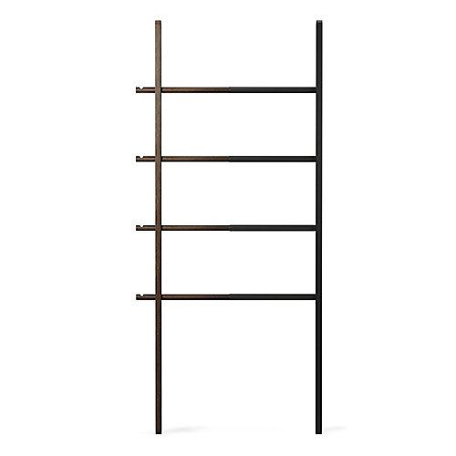 Hub Ladder Black/Walnut